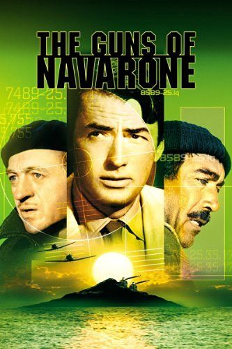 The Guns Of Navarone 1961  A British team is sent to cross occupied Greek territory and destroy the massive German gun emplacement that commands a key sea channel.16