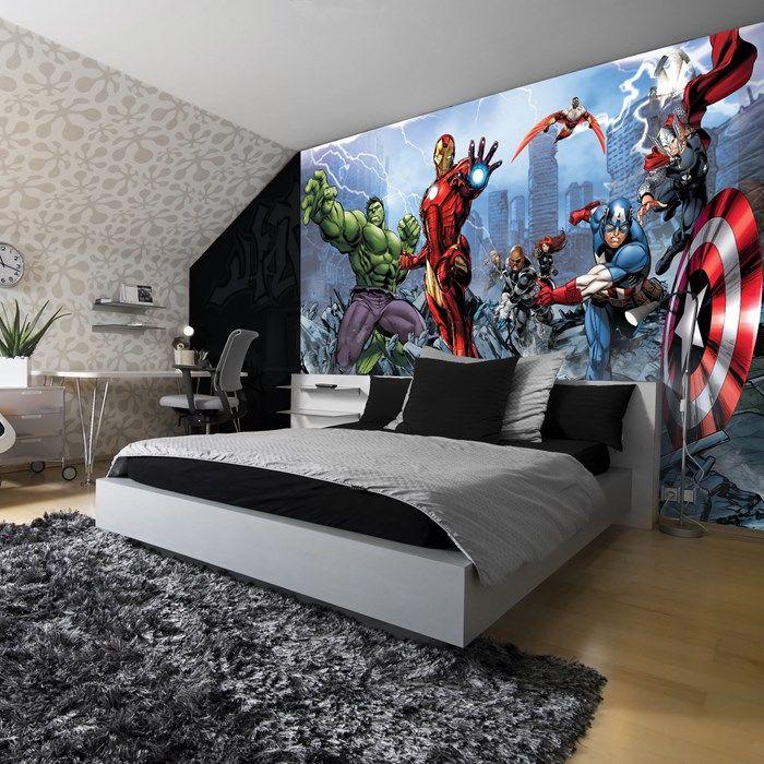 Comic Book Wall Murals avengers assemble wall mural   graham and brown   stuff