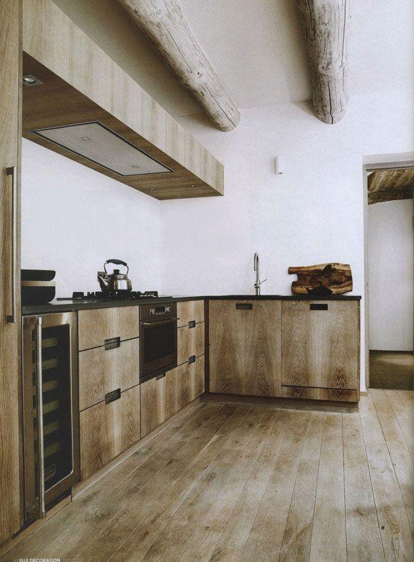 33 Modern Style Cozy Wooden Kitchen Design