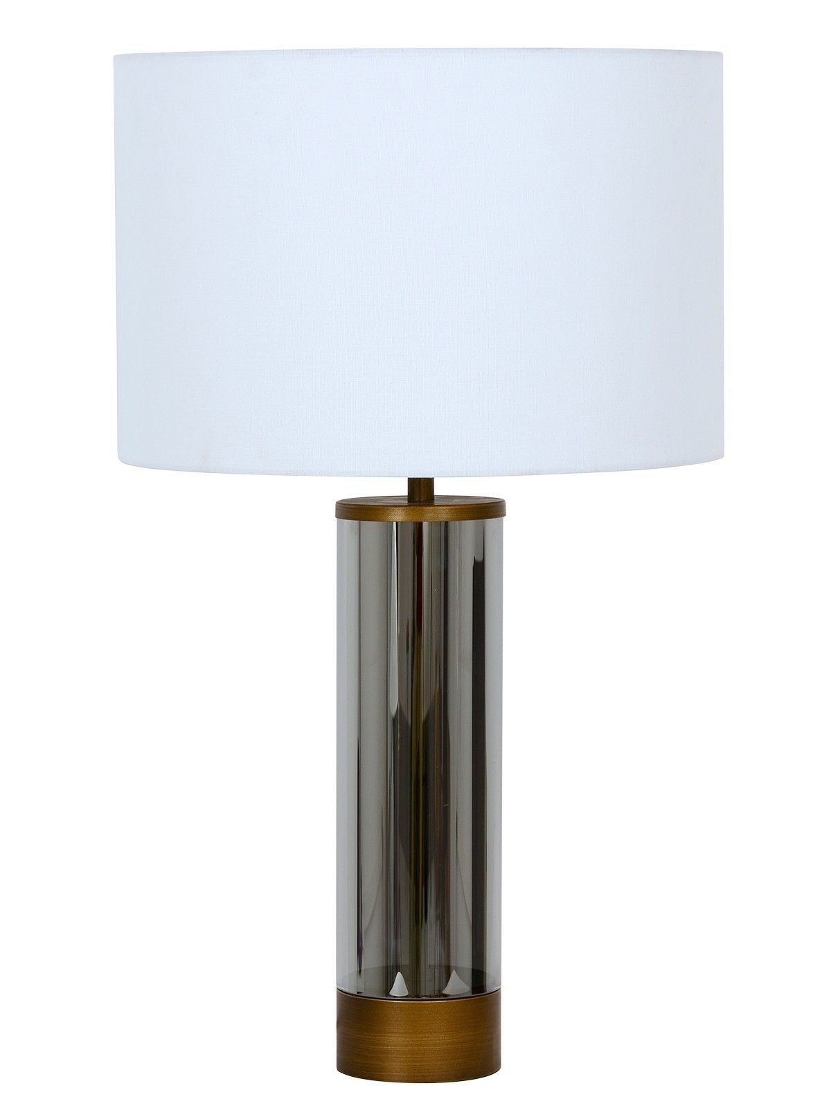 Corian 1 Light Touch Table Lamp In Bronze Smoke With Usb Port Touch Table Lamps Table Lamp Touch Lamp
