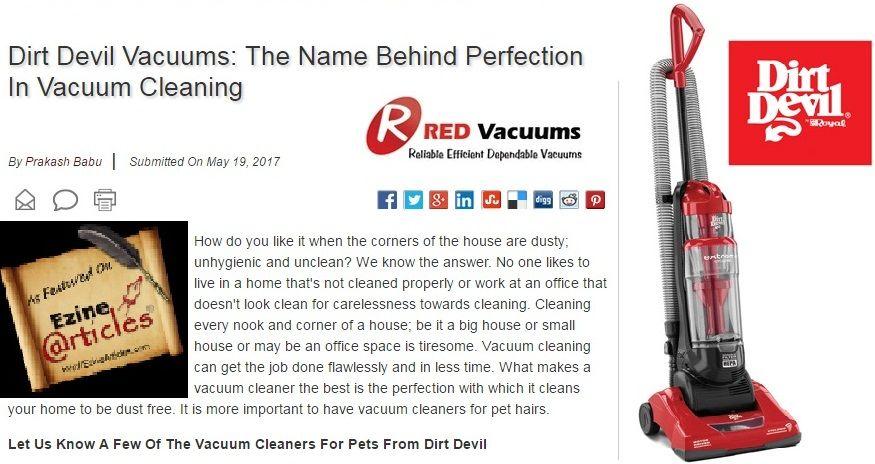 Pin On Dirt Devil Vacuum Bags