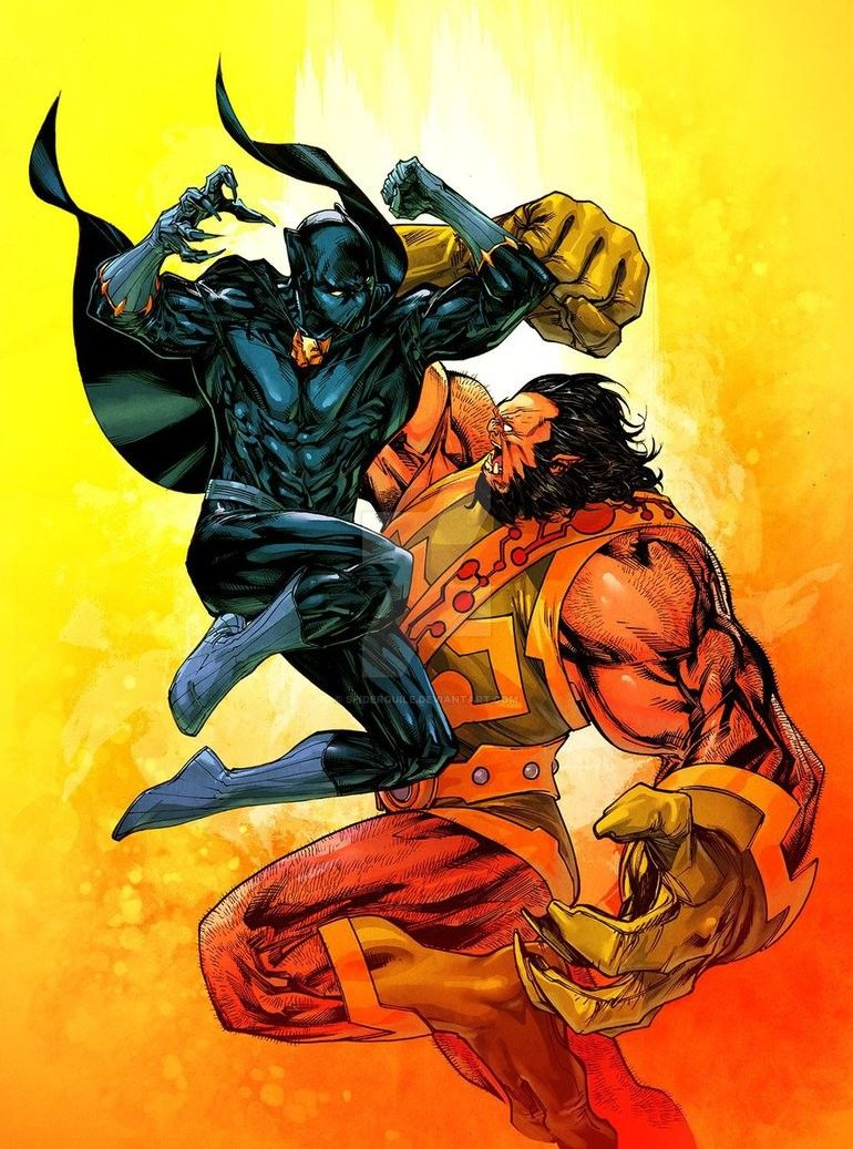 Marvel Vs Dc Black Panther Vs Kalibak Black Panther Marvel Black Panther Art Black Panther