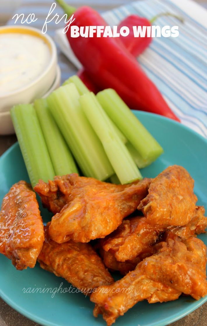No fry buffalo wings recipe buffalo yummy food and food main dishes forumfinder Image collections