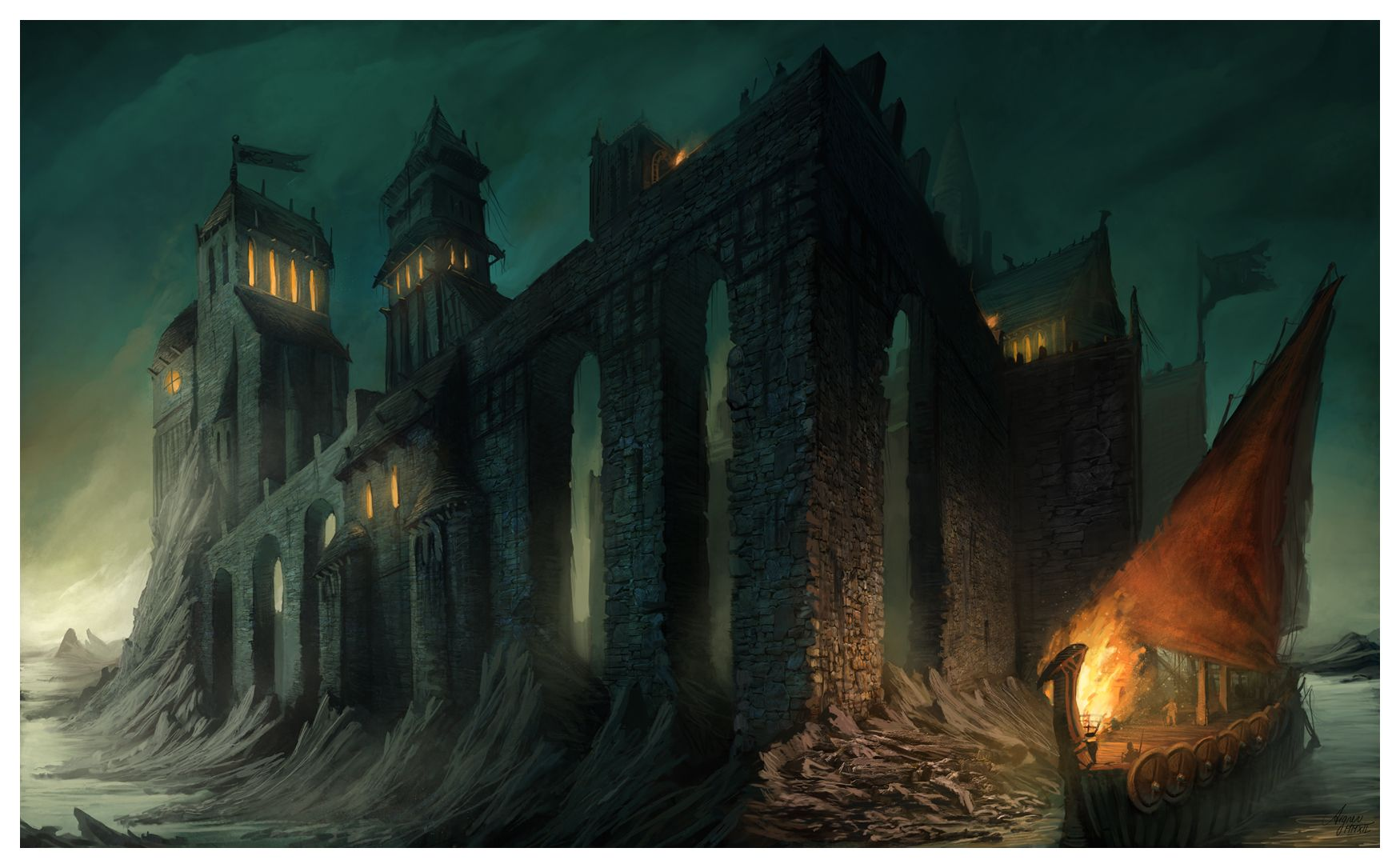 The Iron Islands By Reneaigner Deviantart Com With Images Game
