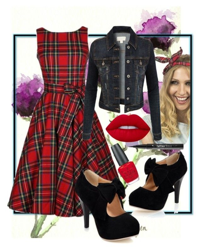 """2 winners win $20 cash with rosegal"" by la-fraser-1 ❤ liked on Polyvore featuring Crown and Glory, LE3NO, Lime Crime, OPI, Kat Von D, vintage, pinup and scottish"