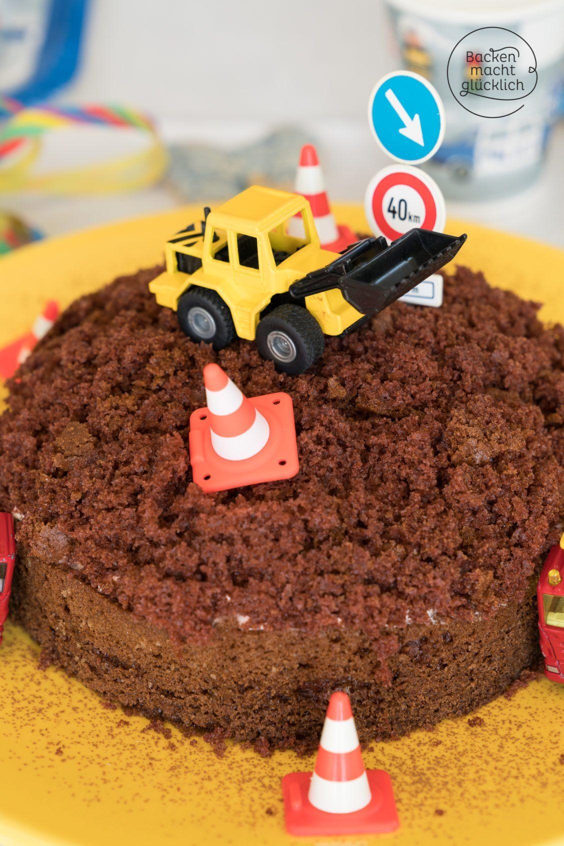 Einfache Baustellen Torte Rezept Backideen Cake Amazing Cakes