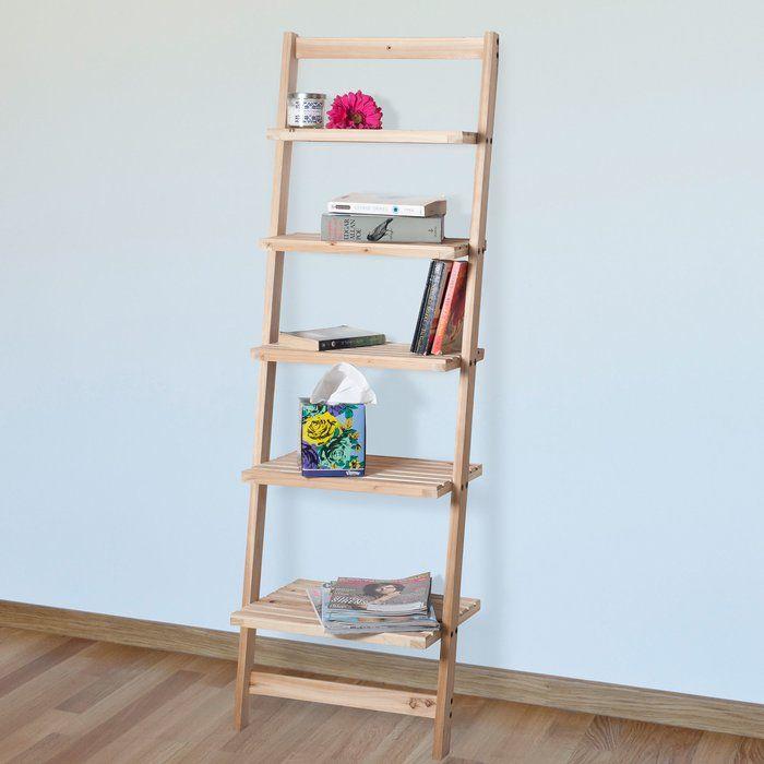 ladder bookcase room wood storage shelves leaning ladder shelf rh in pinterest com