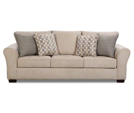 i found a davis beige sofa at big lots for less find more at rh pinterest com