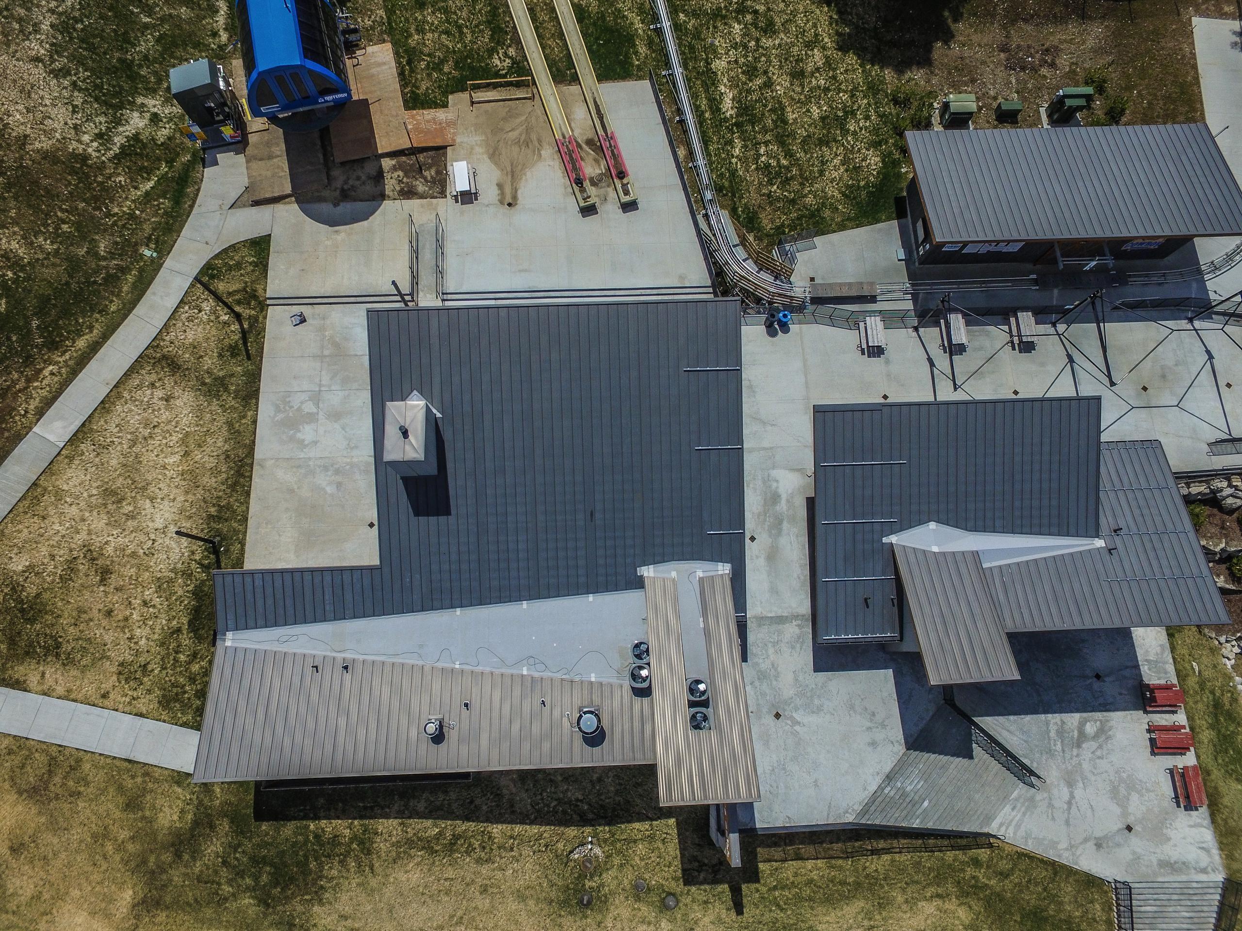 Standing Seam Metal Roofing Bonderized Standing Seam Metal Roof Commercial Metal Roofing Metal Roof