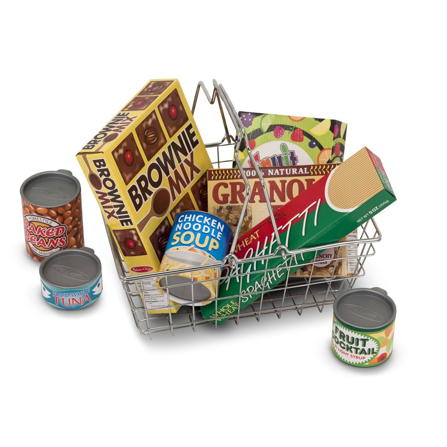 Photo of Grocery Basket With Food