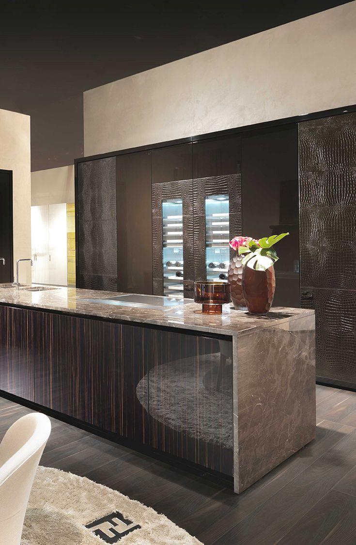 Villa Livia By Fendi Casa Ambiente Cucina September 2014 Edition  # Muebles Fendi Casa