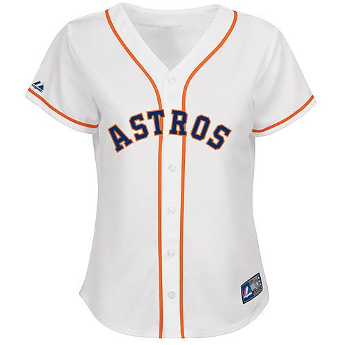 9da5bc8029b Houston Astros Women's Replica Jersey by Majestic Athletic - MLB.com Shop