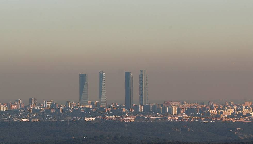 Restricciones de tráfico en Madrid por la contaminación en directo