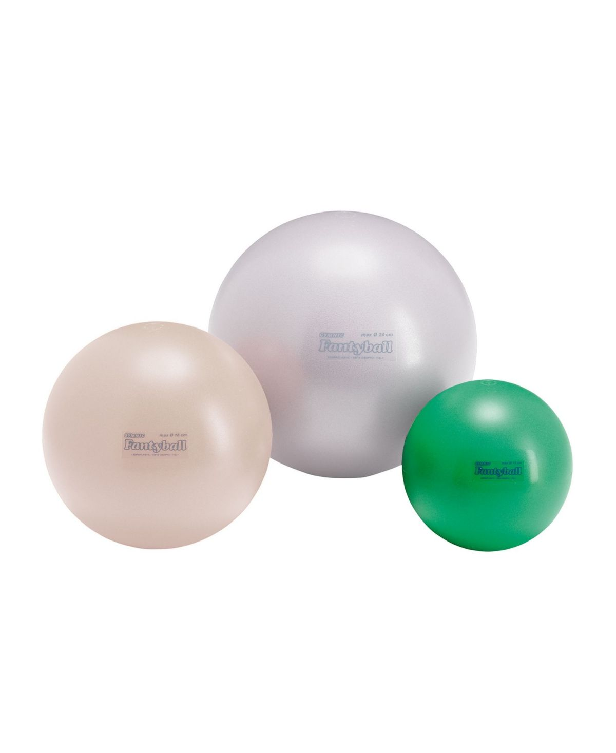 Easy to grasp and with a soft-touch surface, the fantyball is a resistant ball and very pleasant to the touch. Its peculiarity of rebound makes it a ball suitable for play and motor activity dedicated to the little ones.