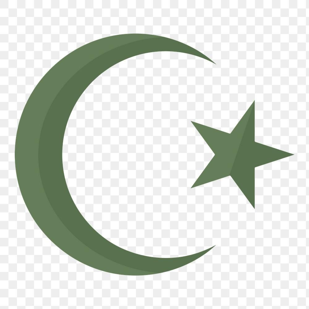 Islamic Crescent Moon And Star Symbol Design Element Free Image By Rawpixel Com Ningzk V Symbol Design Design Element Image Fun