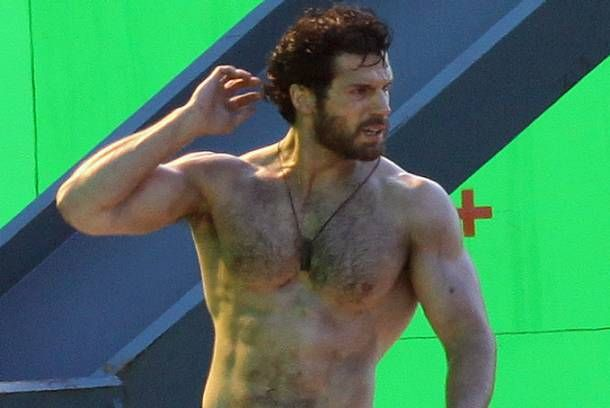 It S Time To Discuss Superman S Hairy Chest Pop Workouts Hairy