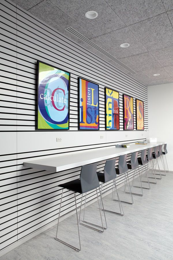 Inspiration: Acoustic Ceiling In School Builidng (med