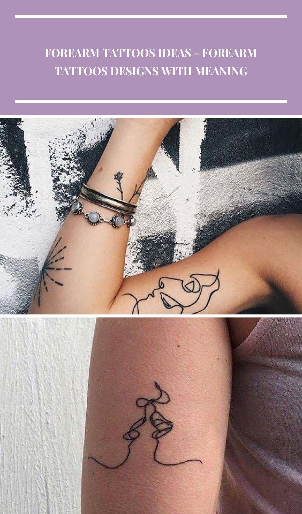 Simple Forearm Tattoo Ideas ♡♡♡♡♡♡ #tattooo #forearmtattoo