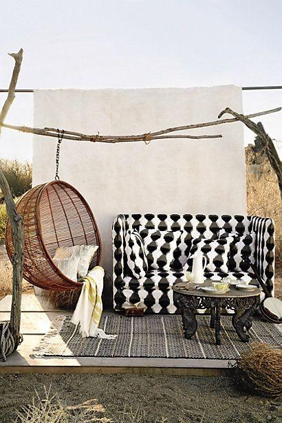 Rattan Hanging Chair Anthropologie