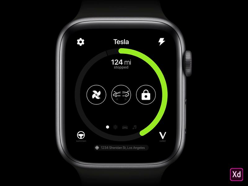 Tesla Apple Watch Concept(이미지 포함)