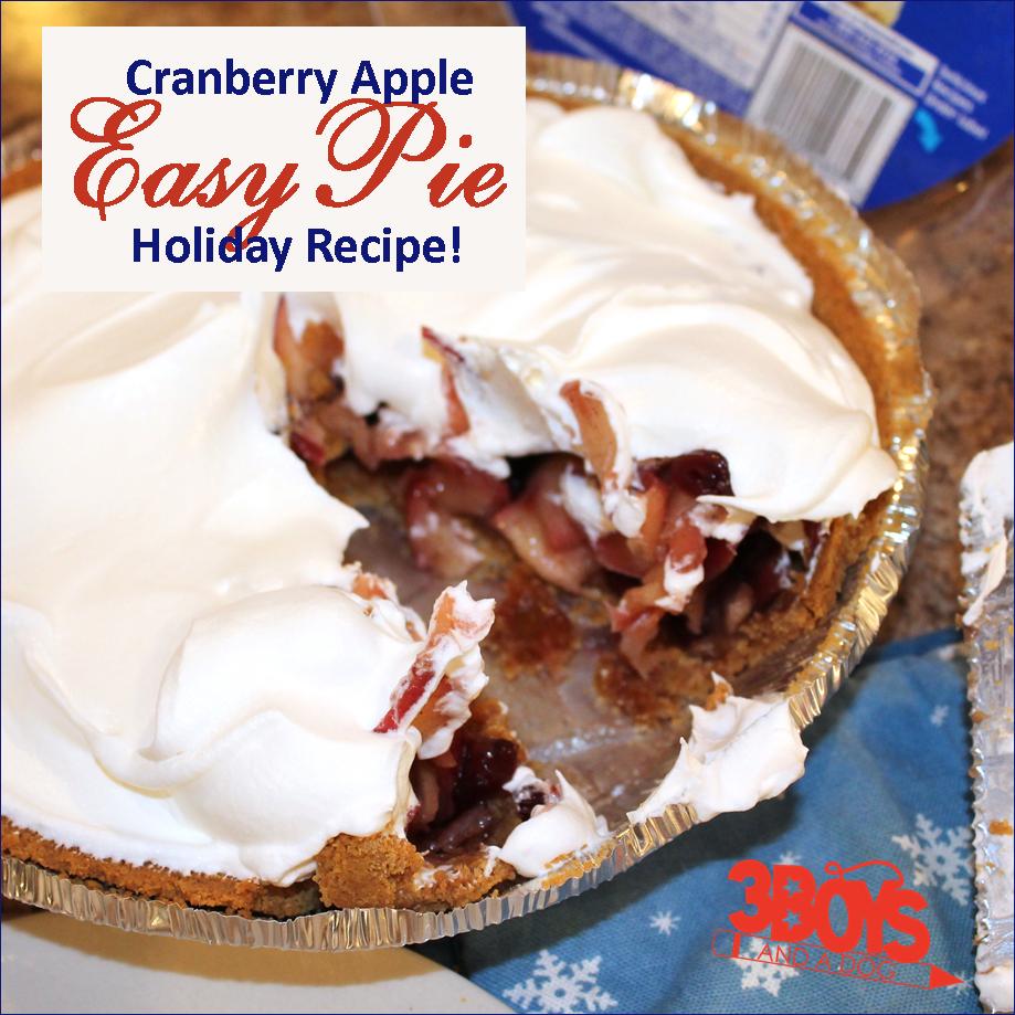 Honey Maid Graham Cracker Cranberry Apple Pie Recipe Recipe Honey Maid Graham Crackers Apple Pie Recipes Apple Cranberry Pie
