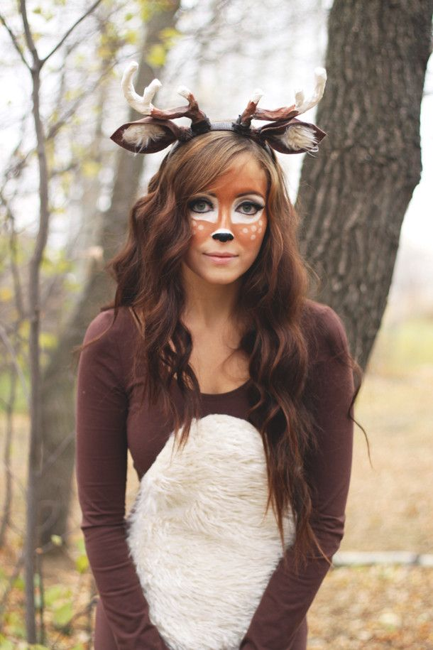 DIY Deer Costume  sc 1 st  Pinterest : deer costume diy  - Germanpascual.Com