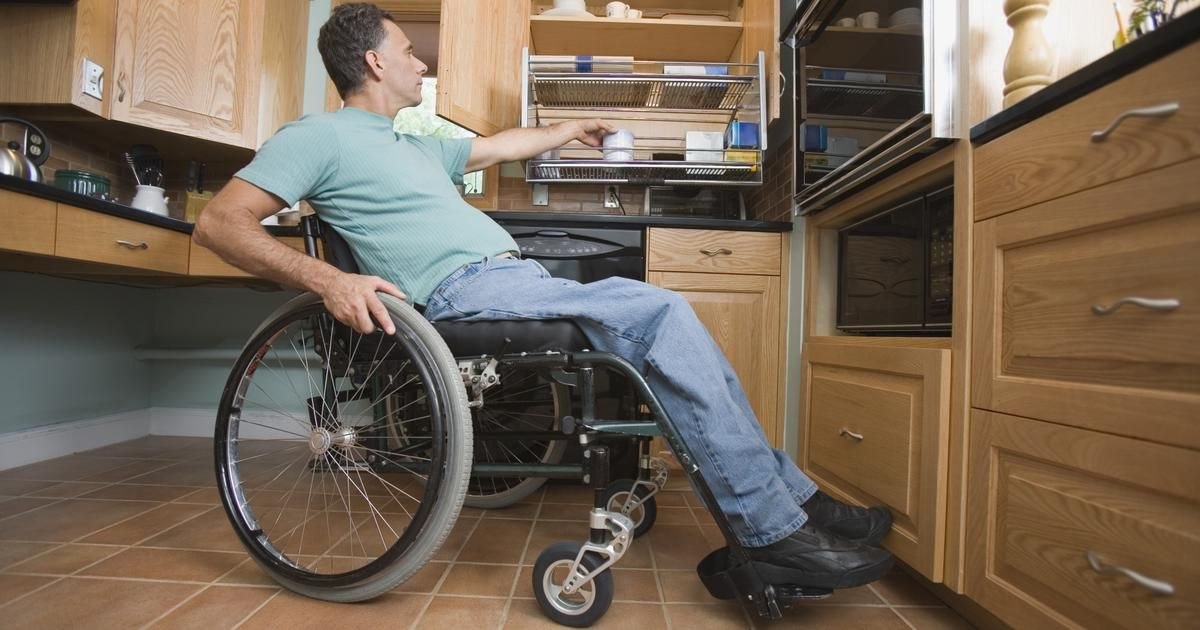 Disabled Person at Home find free grant info at grants