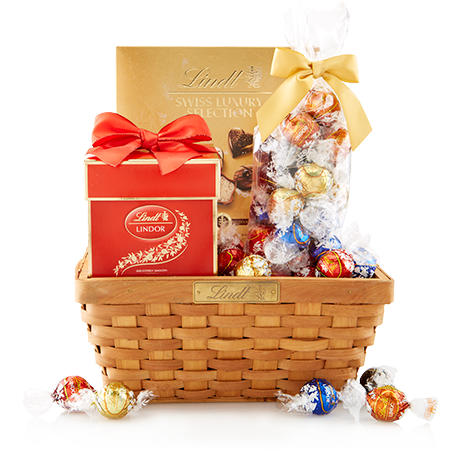 Lindt thank you gift basket 2015 pinterest send chocolates lindt thank you gift basket negle Choice Image
