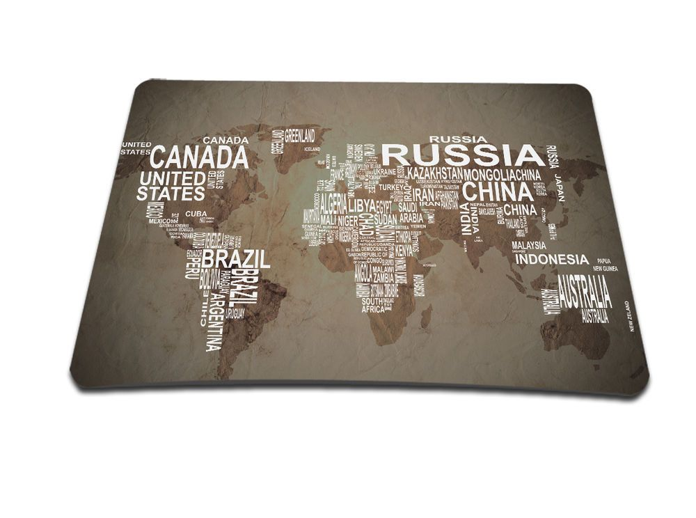 Maps Mouse Pad Computer Mouse Mice Mat Mousepad For Laser Optical Mouse Mice