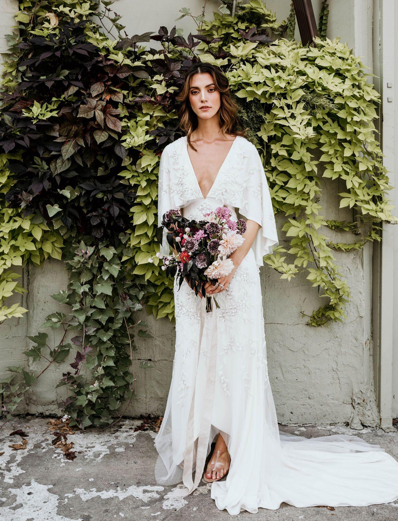 Brooklyn S Finest Modern Cool Autumnal Wedding Inspiration For