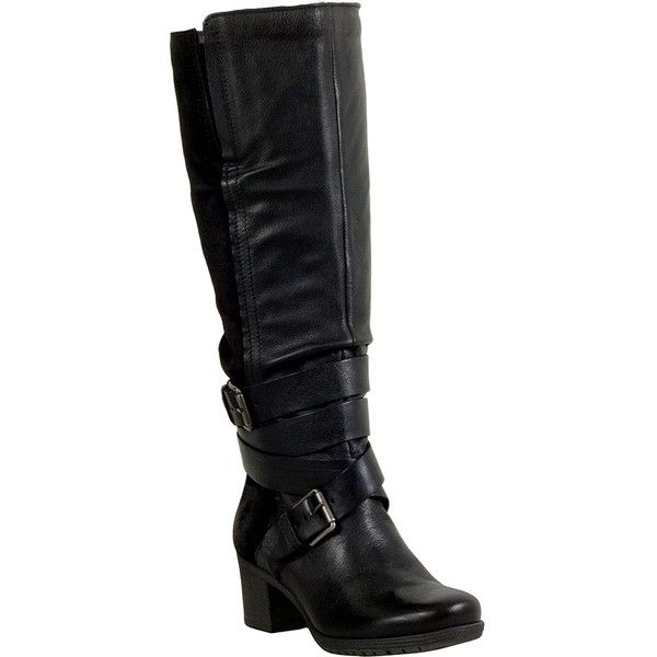 2b9cf915e2ed Miz Mooz Dina Women s Riding Boot ( 250) ❤ liked on Polyvore featuring  shoes