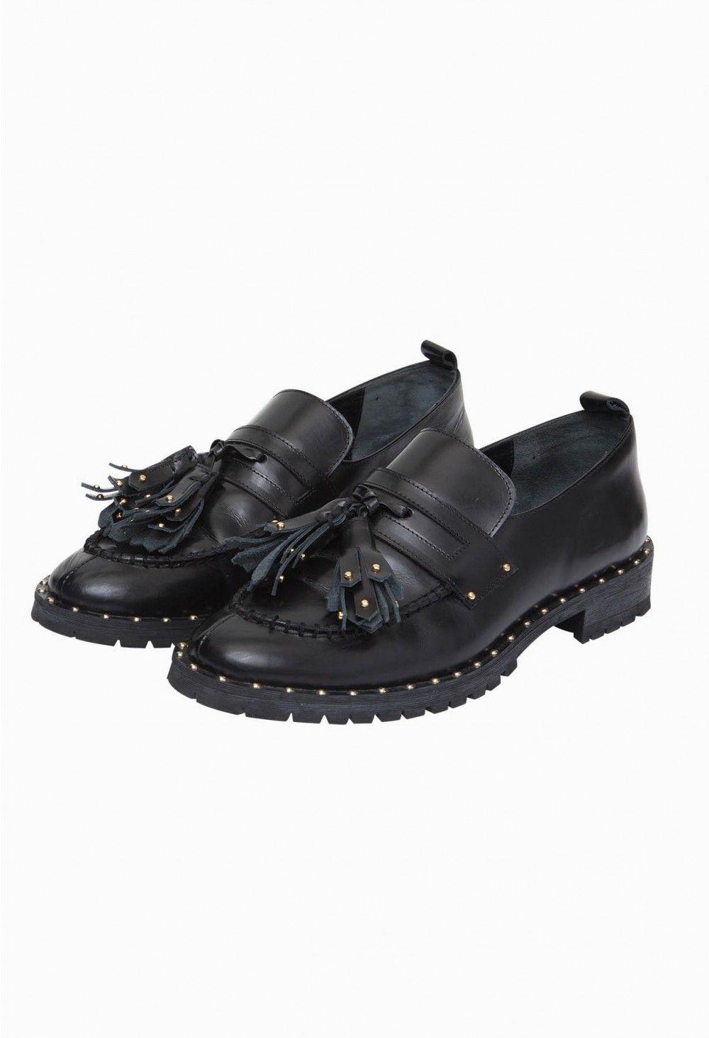 Mocassins Mes Chaussures Aveux Femme Claudie Pierlot Noir 6q60vr
