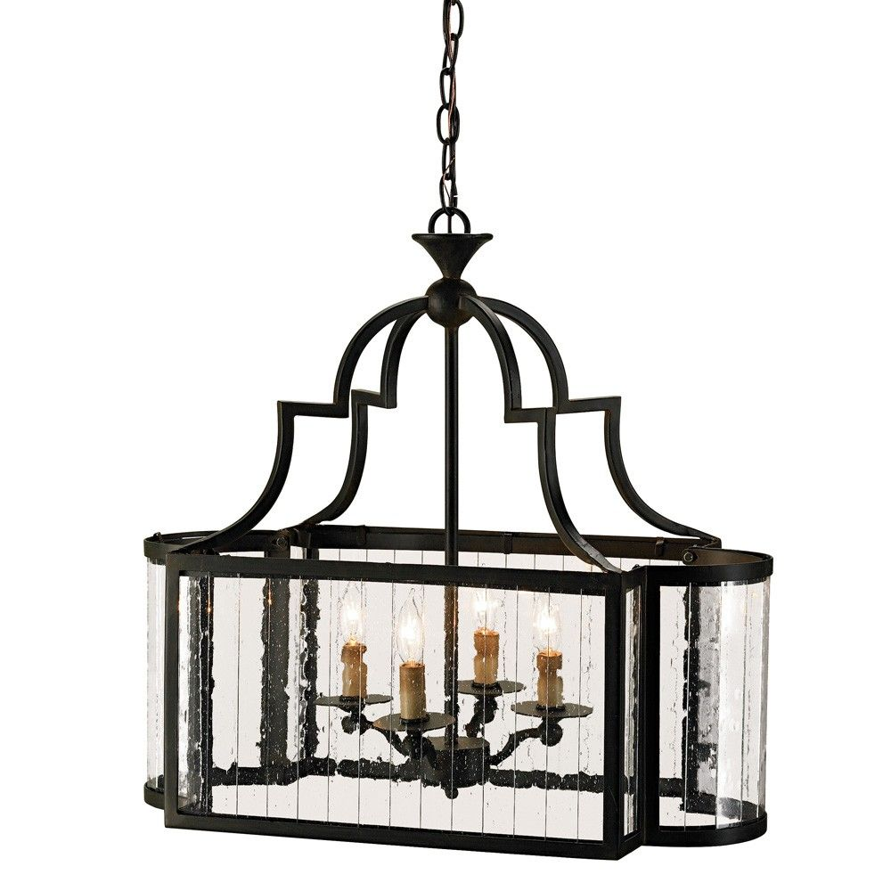 This Rectangular Lantern Is Made Very Special With Sides Of Multi