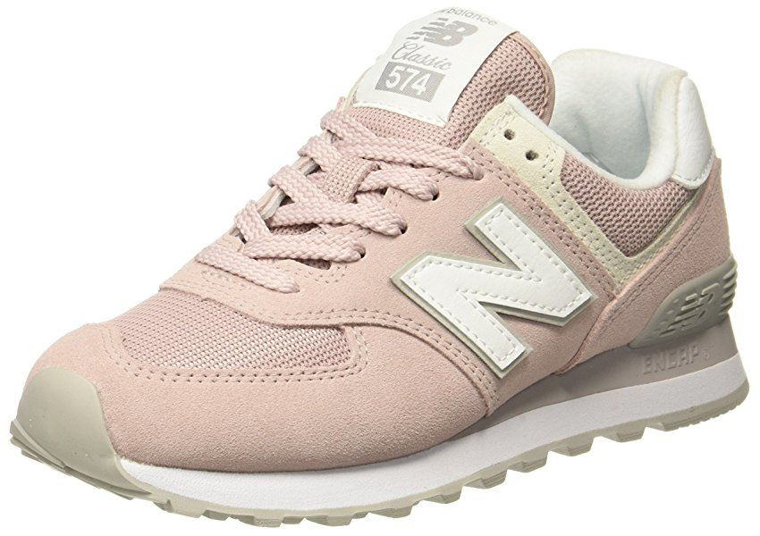 New Balance Damen WL574v2 Sneaker, Pink, 39 EU: Amazon.de ...