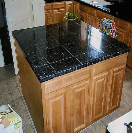 Tile Counter Photo Marble Tile Kitchen