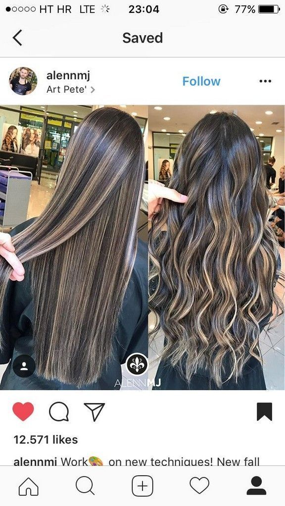 New Hairstyle And Color Ideas For Just Trendy Girls New Hairstyle And Color In 2020 Haarfarben Balayage Dunkelbraune Haare Haare Balayage