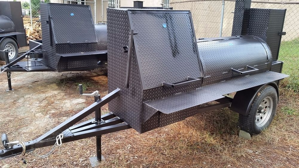 Wedding Gift BBQ Smoker Cooker Grill Trailer Catering Food