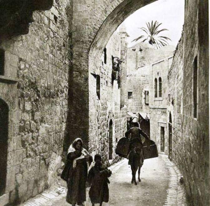 In Jerusalem, Palestine, in 1870 من القدس ..عام 1870