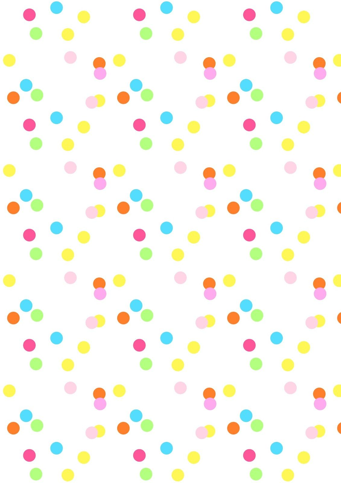 FREE printable confetti pattern paper | MeinLilaPark | Carte da ...