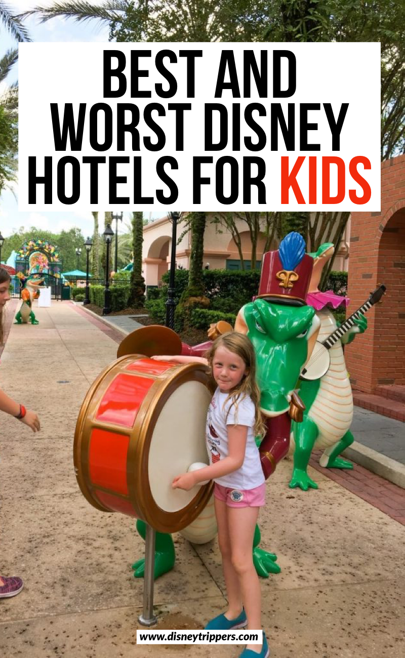 Best And Worst Disney Hotels For Kids | best Disney resorts for kids | best kid-friendly Disney hotels | where to stay at Disney world with kids | disney resorts for families | best things to do at Disney with kids | disney hotel options #disneykids #disney #disneyworld