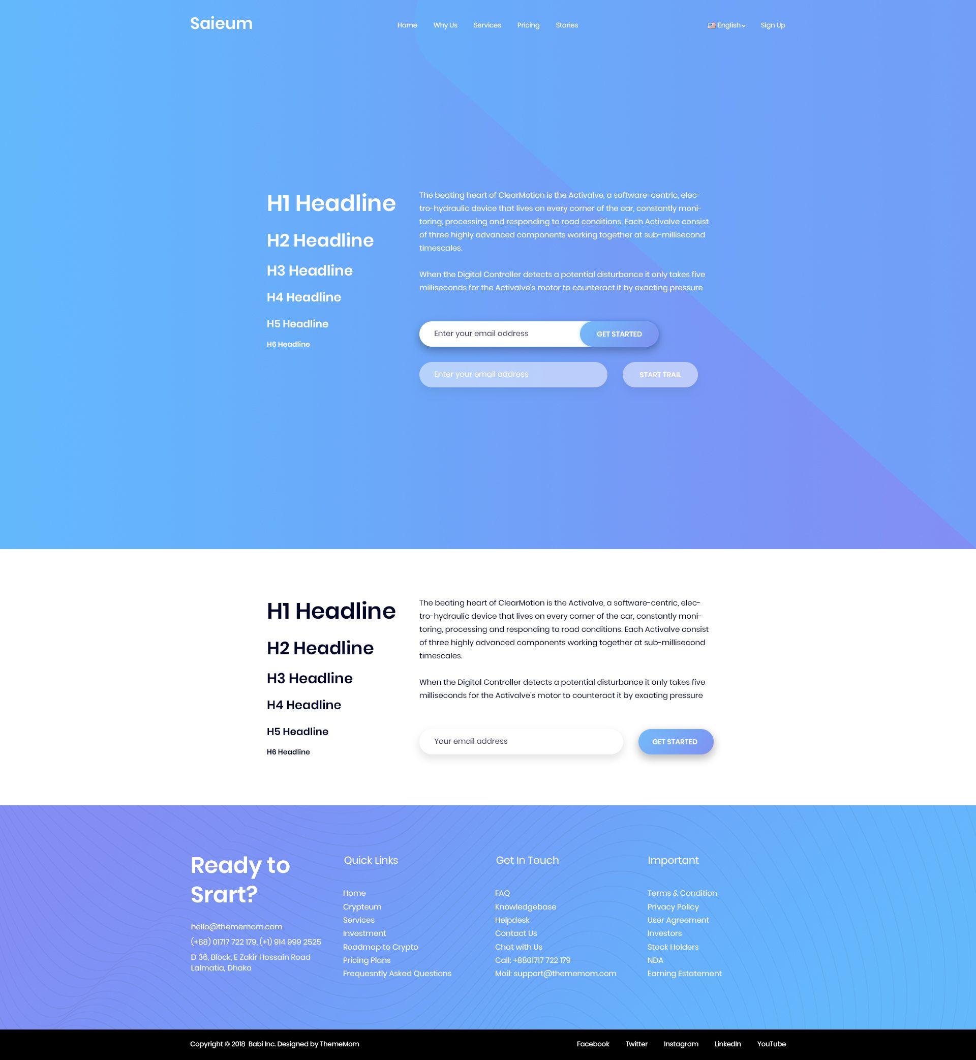 Software, App & Product Showcase Landing HTML