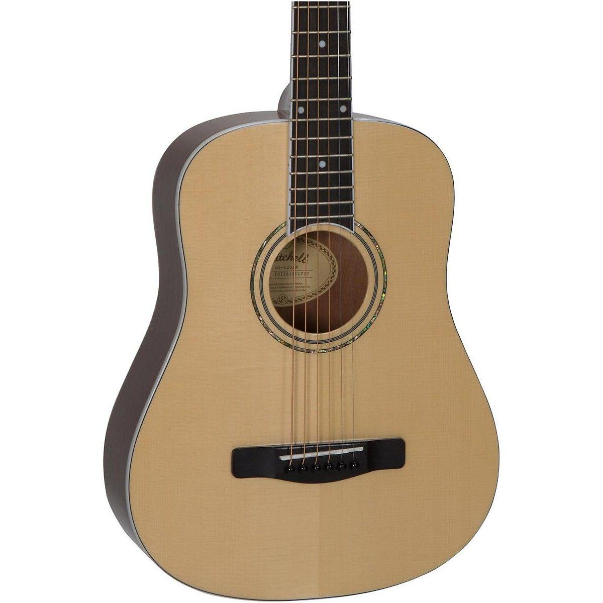 Mitchell Dj120 Junior Dreadnought Acoustic Guitar Guitar Acoustic Guitar Semi Acoustic Guitar