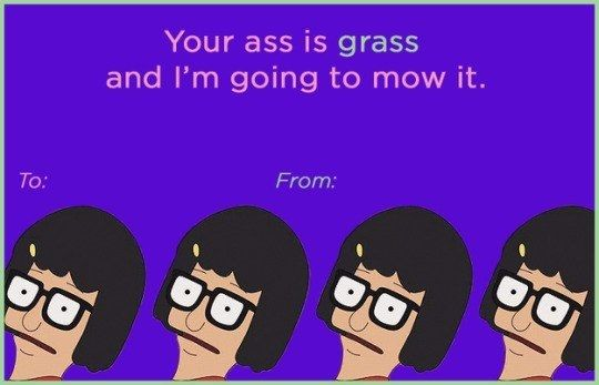 Your ass is grass and I'm going to mow it.