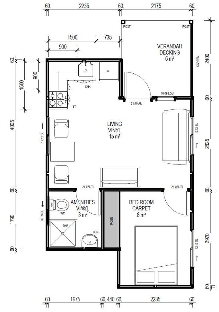 IBuild Lekofly L30 Modular Cabin Floor Plan ~ Great pin! For Oahu ...