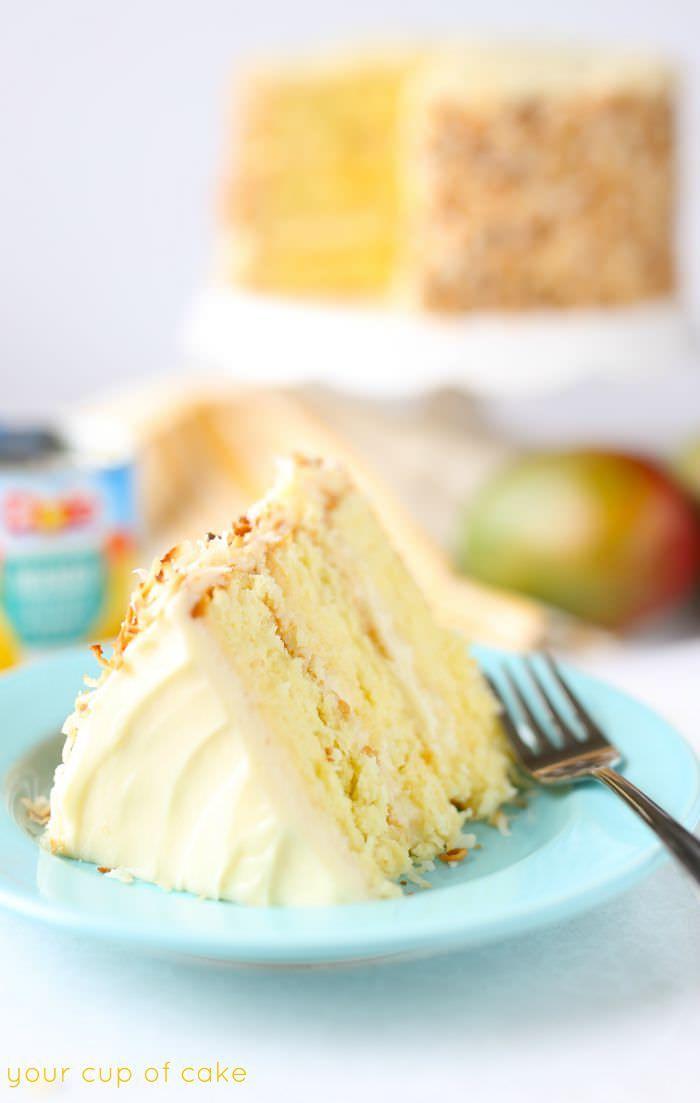 Cupcakes Mango Slices