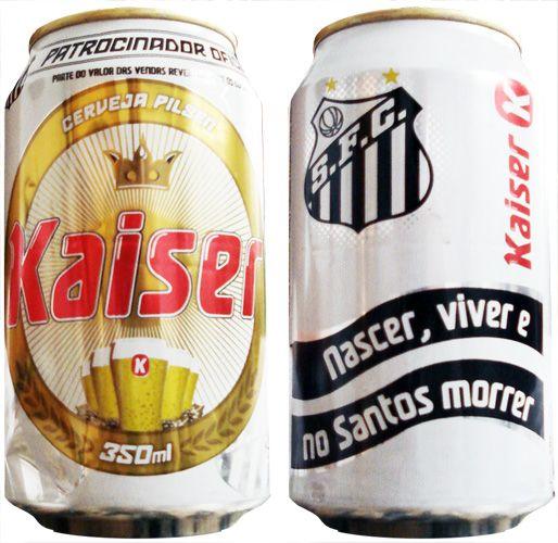 #kaiser #cerveja #lata