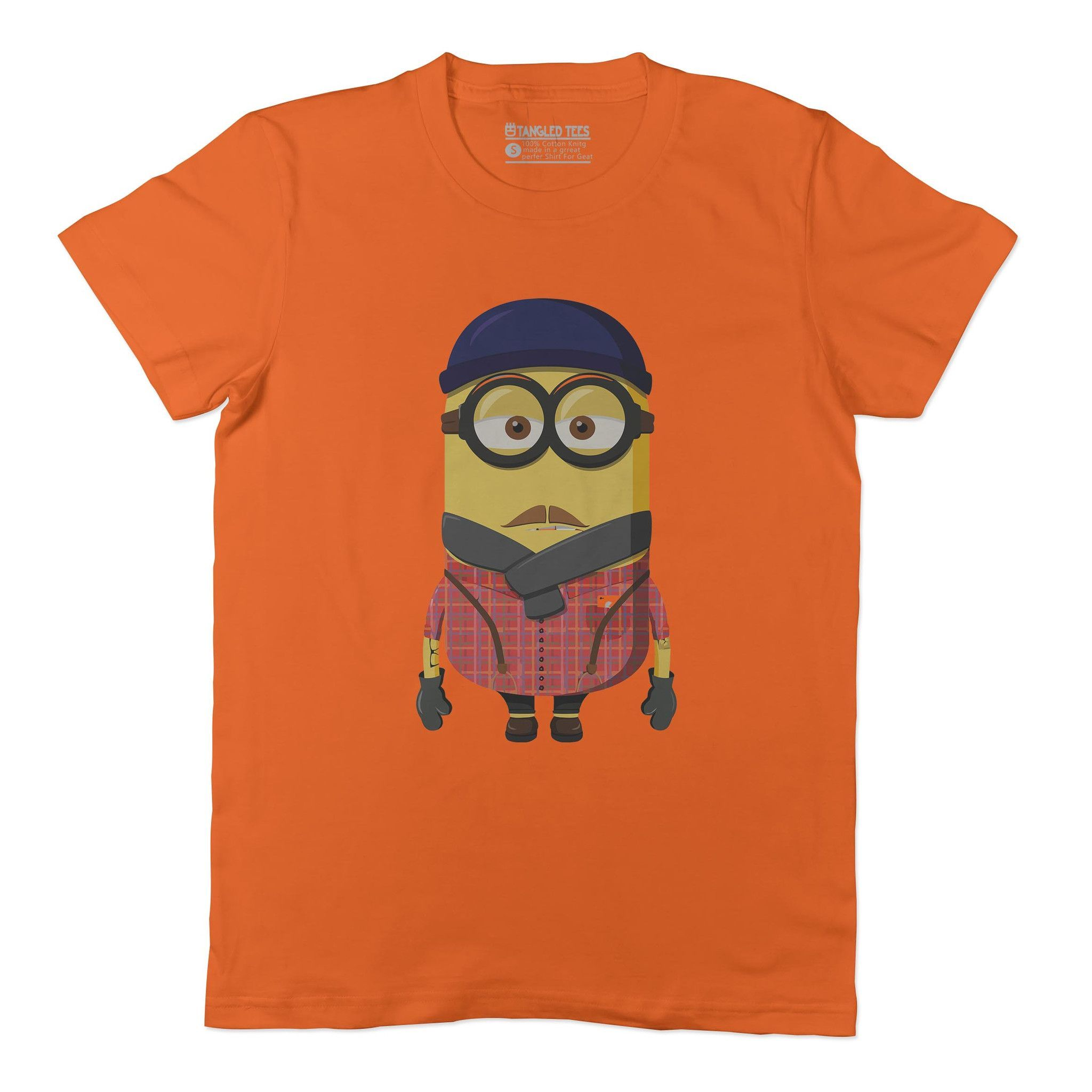 Hipster minion adult tee shirt products pinterest products