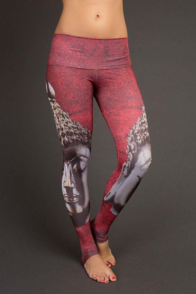Buddha yoga pants