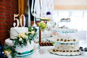 Great ideas for making a memorable 50th wedding anniversary celebration!