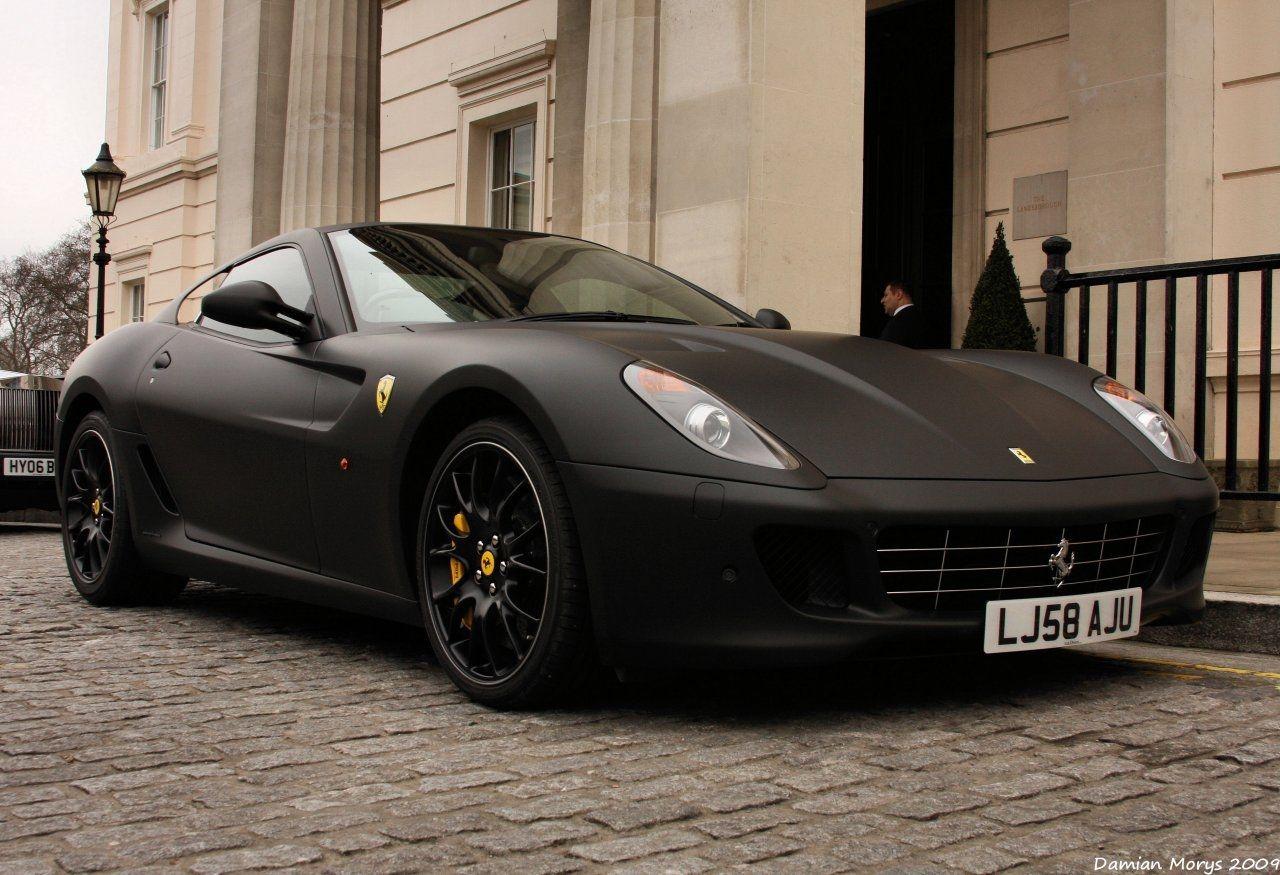 ferrari 599 google search matte black - Matte Black Ferrari 599